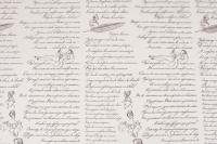 Пленка цветная Пушкинские строки 70см графитовый