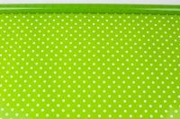 Пленка цветная Полька 70см салатовый