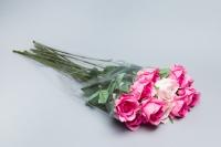 Пакет цветочный Конус Алиса 34/60 прозрачный/прозрачный