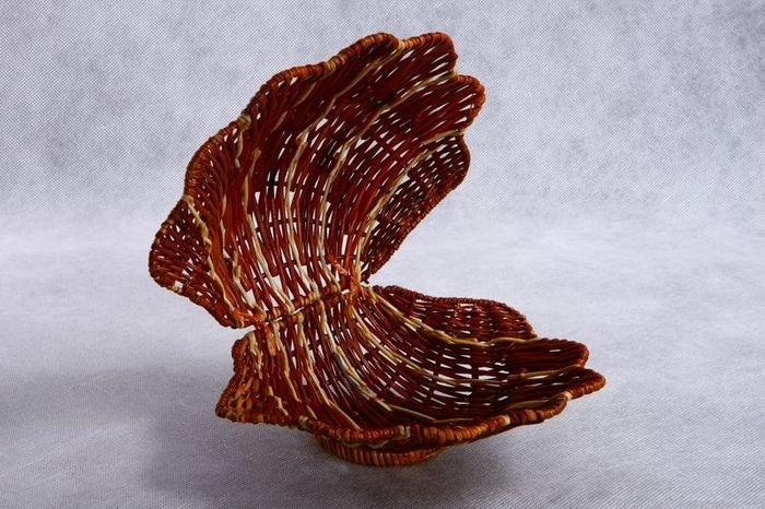 Плетеная ракушка своими руками 51