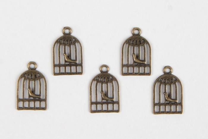 f5344cd8af566 Декор металл Клетка 1.2х1.5см, 5шт