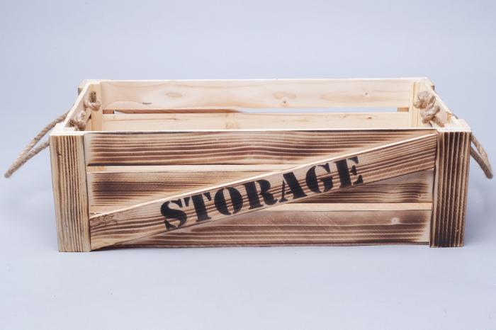 ящик интерьерный деревянный